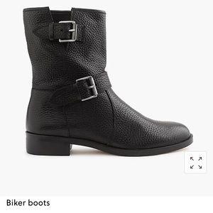 J.Crew Biker boots